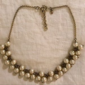 J Crew Floating Pearl Necklace